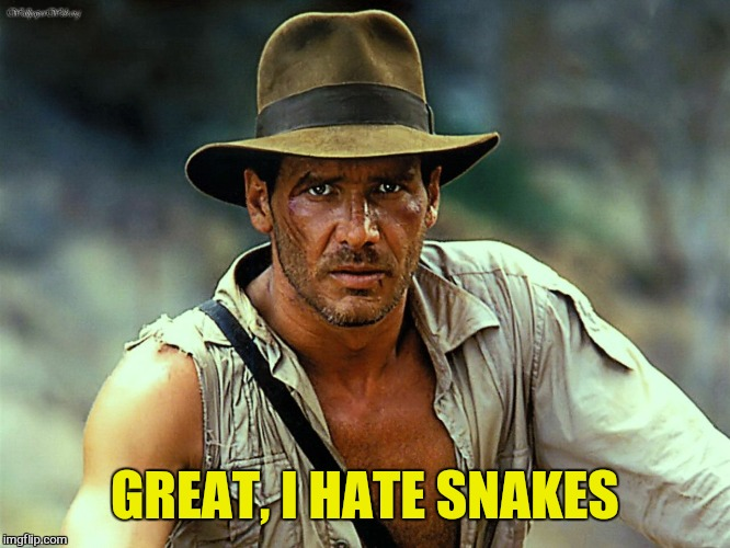 GREAT, I HATE SNAKES | made w/ Imgflip meme maker