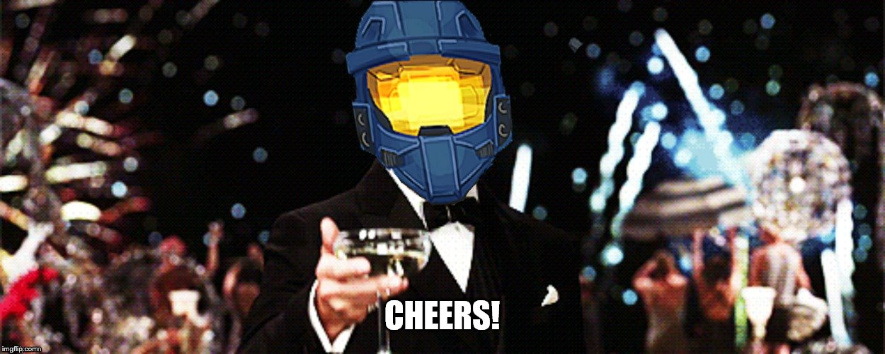 CHEERS! | image tagged in ghostofchurch cheers | made w/ Imgflip meme maker