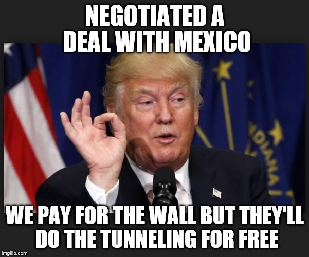 Image Tagged In Trump Immigration Policy Trump Humor Satire