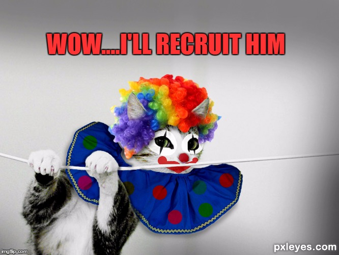 WOW....I'LL RECRUIT HIM | made w/ Imgflip meme maker