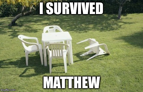 We Will Rebuild |  I SURVIVED; MATTHEW | image tagged in memes,we will rebuild | made w/ Imgflip meme maker
