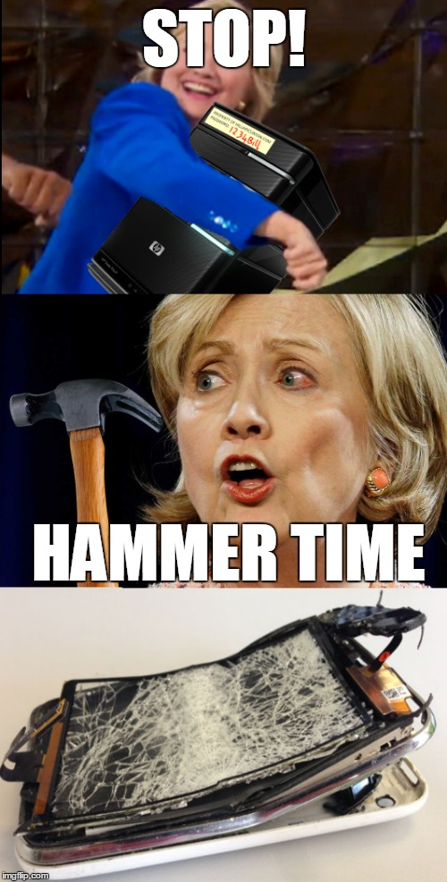 STOP! HAMMER TIME | made w/ Imgflip meme maker