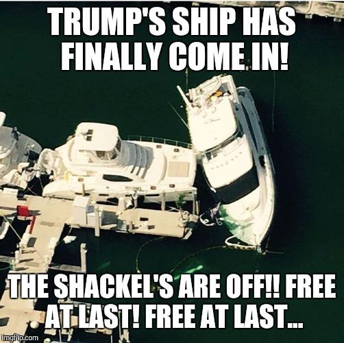 Sunk Yacht Imgflip