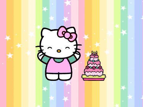 hello kitty happy birthday sandi blank template imgflip