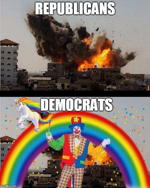 Foreign Policy | REPUBLICANS DEMOCRATS | image tagged in foreign policy | made w/ Imgflip meme maker