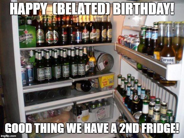 happy belated birthday in german