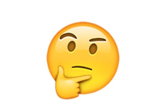 High Quality Thinking emoji Blank Meme Template