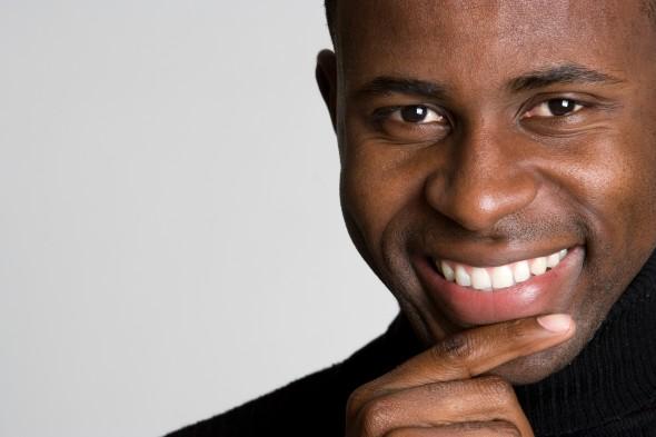 Black Guy Smiling Meme