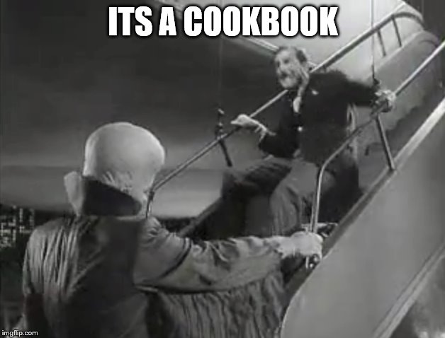 ITS A COOKBOOK | made w/ Imgflip meme maker