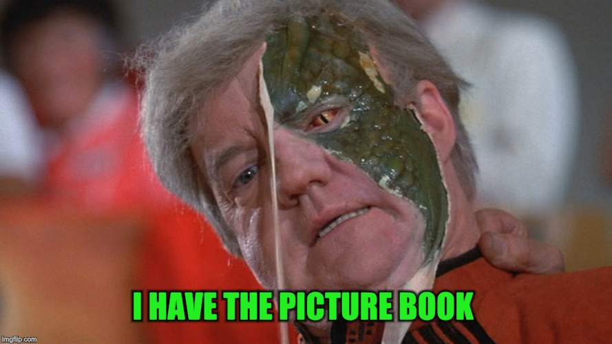 I HAVE THE PICTURE BOOK | made w/ Imgflip meme maker