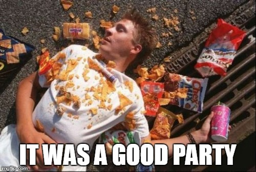 IT WAS A GOOD PARTY | made w/ Imgflip meme maker