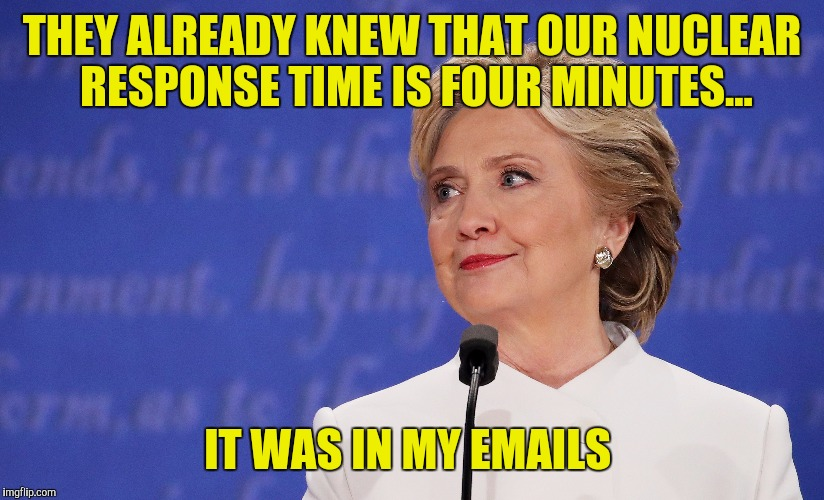 "Meanwhile Joe Biden tells the world about our ""top secret"" cyber counterattack  