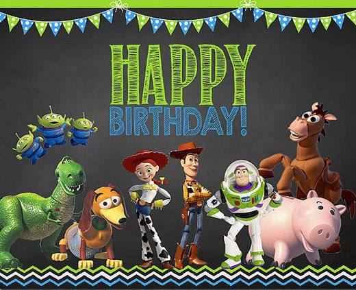 Toy Story Birthday Blank Template Imgflip