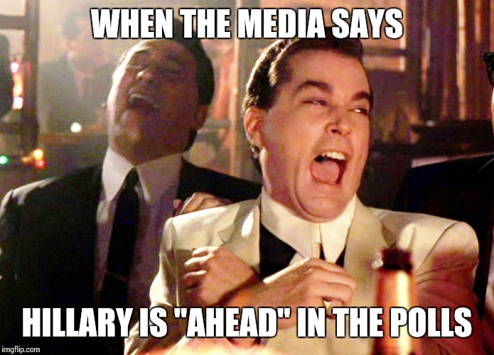 Image result for the polls don't lie meme