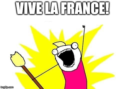 X All The Y | VIVE LA FRANCE! | image tagged in memes,x all the y | made w/ Imgflip meme maker