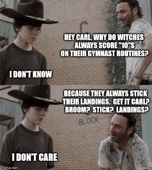 Rick On (Broom)Sticks