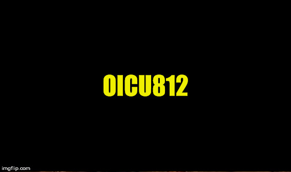 OICU812 | made w/ Imgflip meme maker