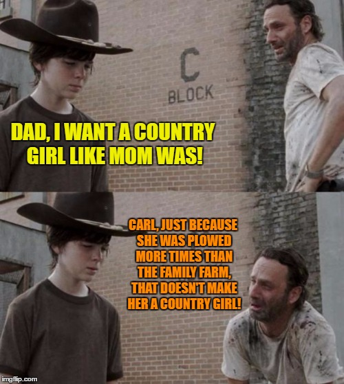 Rick And Carl Meme Imgflip