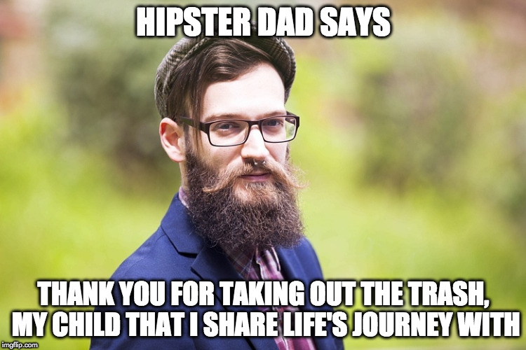 hipster dad - Imgflip