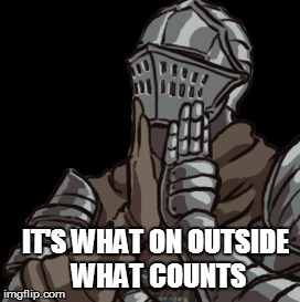 IT'S WHAT ON OUTSIDE WHAT COUNTS | made w/ Imgflip meme maker