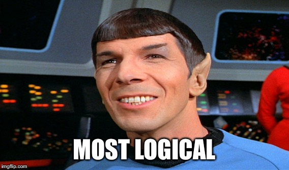 MOST LOGICAL | made w/ Imgflip meme maker