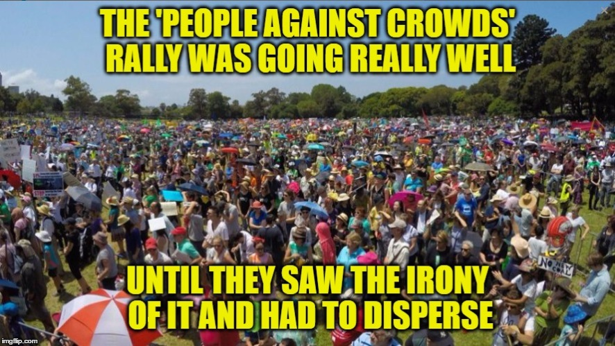 Taking It To The Streets | . | image tagged in memes,rally,crowd,protest,protestors | made w/ Imgflip meme maker