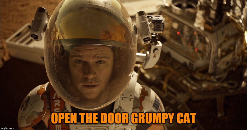 OPEN THE DOOR GRUMPY CAT | made w/ Imgflip meme maker