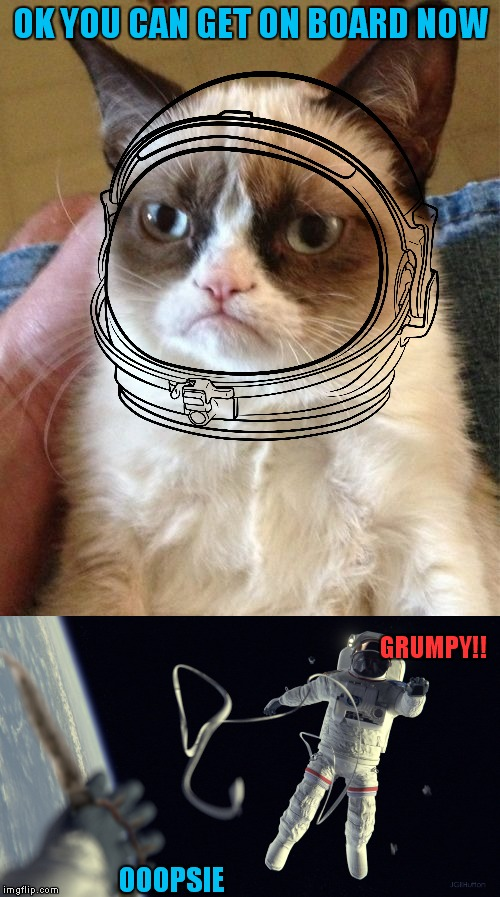OK YOU CAN GET ON BOARD NOW OOOPSIE GRUMPY!! | made w/ Imgflip meme maker