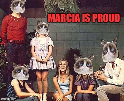 MARCIA IS PROUD | made w/ Imgflip meme maker