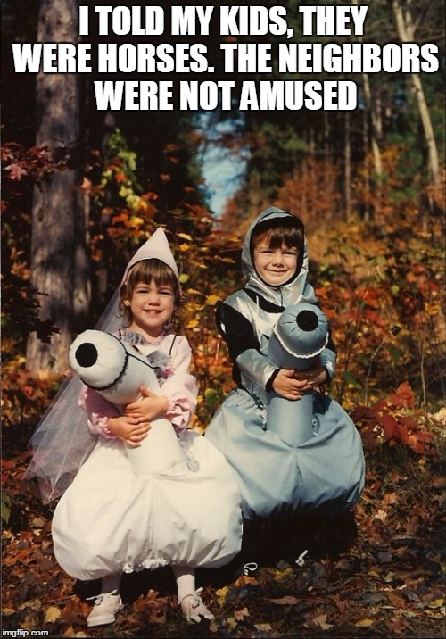 1d2l4y awkward family photo horse costume children memes imgflip
