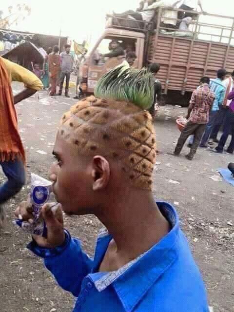pineapple hair blank template imgflip