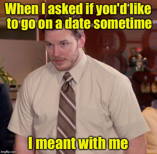Scared to go speed dating