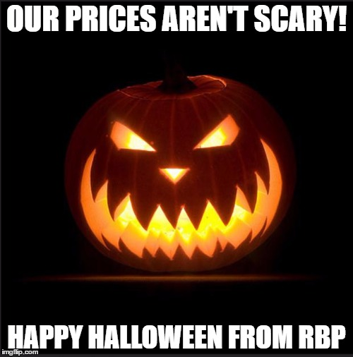 halloween our prices arenu0027t scary happy halloween from rbp image tagged