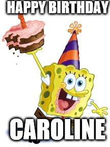 Sponge Bob Birthday Imgflip