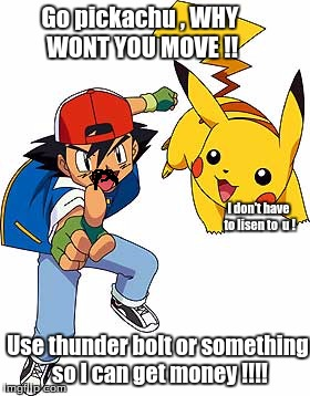Ash And Pikachu Memes Imgflip