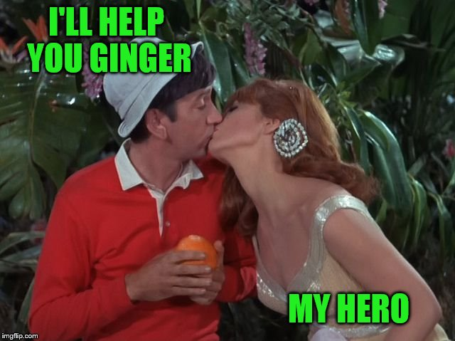I'LL HELP YOU GINGER MY HERO | made w/ Imgflip meme maker