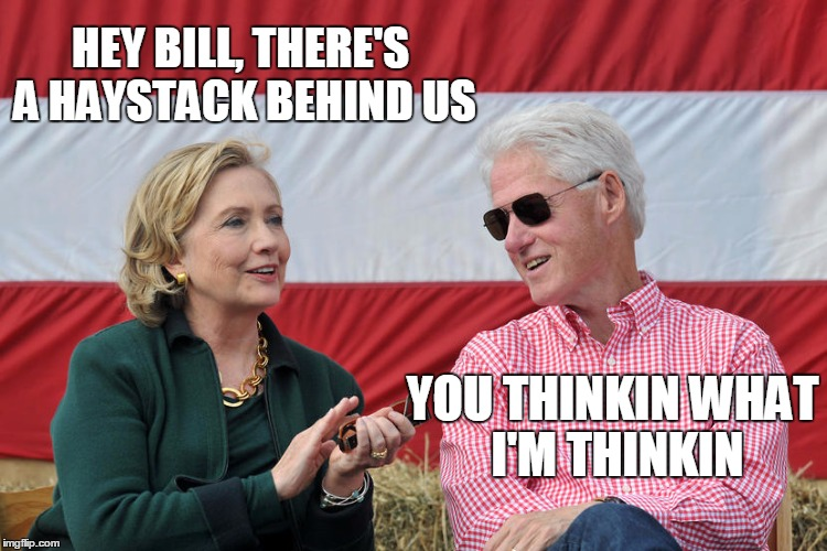 HEY BILL, THERE'S A HAYSTACK BEHIND US YOU THINKIN WHAT I'M THINKIN | made w/ Imgflip meme maker