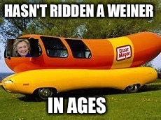 HASN'T RIDDEN A WEINER IN AGES | made w/ Imgflip meme maker