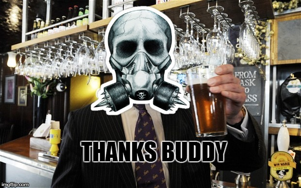 lightinthedark Cheers | THANKS BUDDY | image tagged in lightinthedark cheers | made w/ Imgflip meme maker