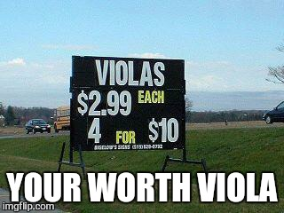 YOUR WORTH VIOLA | made w/ Imgflip meme maker