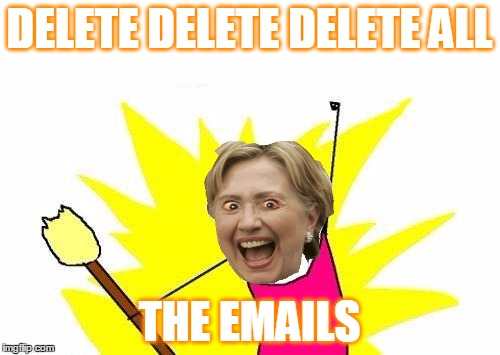 X All The Y Meme | DELETE DELETE DELETE ALL THE EMAILS | image tagged in memes,x all the y | made w/ Imgflip meme maker