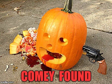 COMEY  FOUND | made w/ Imgflip meme maker