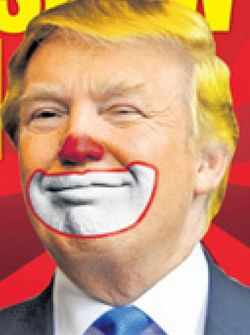 Image result for trump insane clown