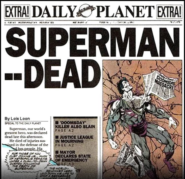 Superman Dead Meme Generator - Imgflip