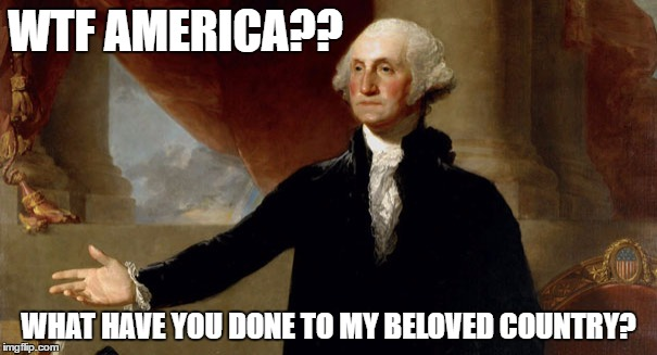 Image result for george washington meme