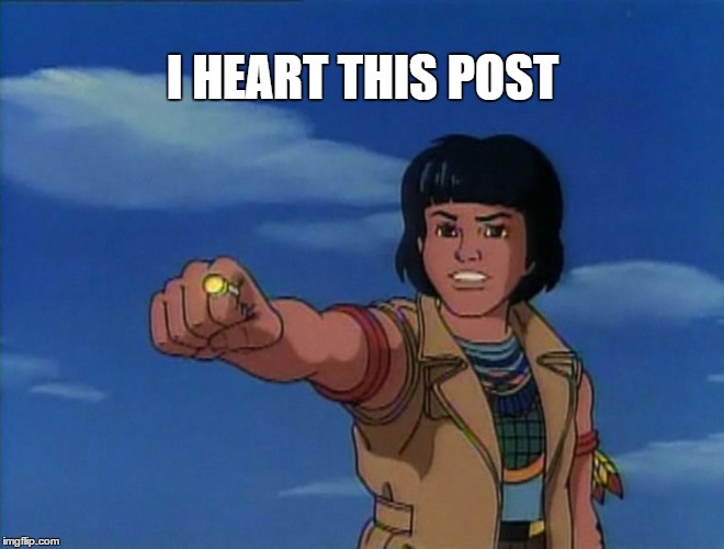 I heart this post |  I HEART THIS POST | image tagged in heart,love,i like this post,captain planet | made w/ Imgflip meme maker