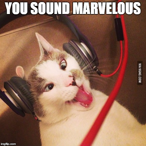 YOU SOUND MARVELOUS | made w/ Imgflip meme maker