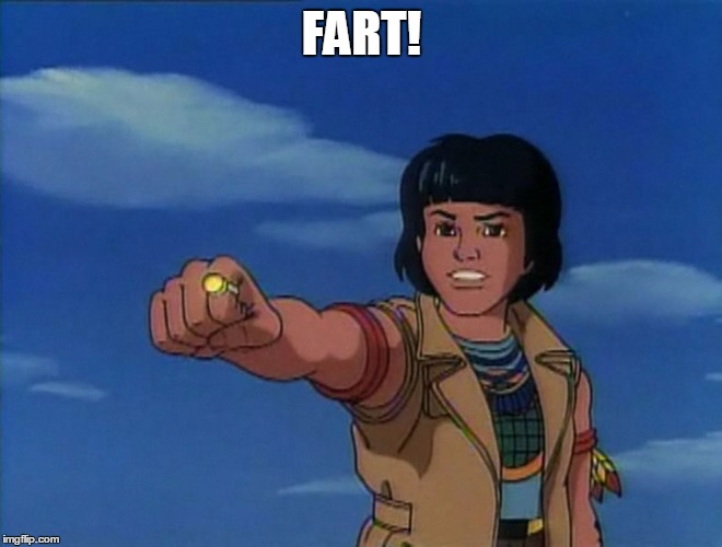 FART! | image tagged in captain planet | made w/ Imgflip meme maker