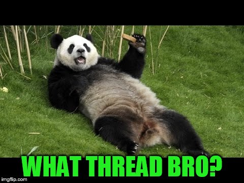 WHAT THREAD BRO? | made w/ Imgflip meme maker