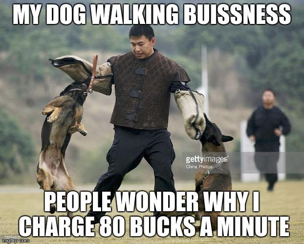 1dehxe dog walking imgflip,Walking Meme